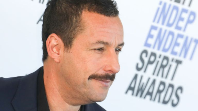 Adam Sandler is well known for hit comedy movies including Happy Gilmore and Mr Deeds