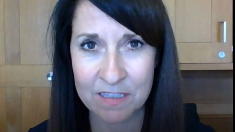 Liz Kendall says the prime minister should not be suggesting that care homes could be 'to blame' for not following procedures over coronavirus