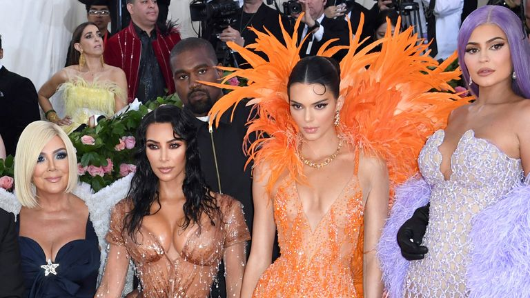 The Kardashians - and Kanye - at the Met Gala in 2019