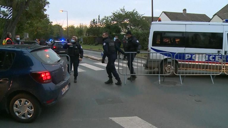 The suspect was shot dead about 600 metres from where the attack took place