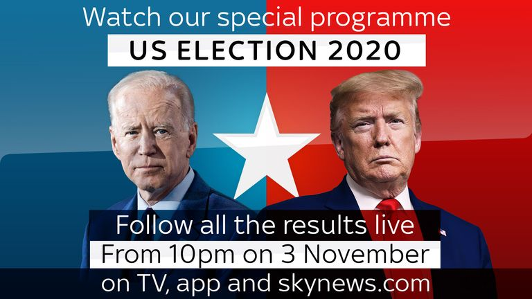 Sky News US election coverage