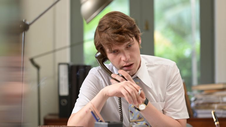 Herman Knippenberg (BILLY HOWLE) in The Serpent. Pic: BBC/Mammoth Screen